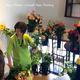 アレンジメント教室UPしました♪ 秋バラでワークショップ♪の画像